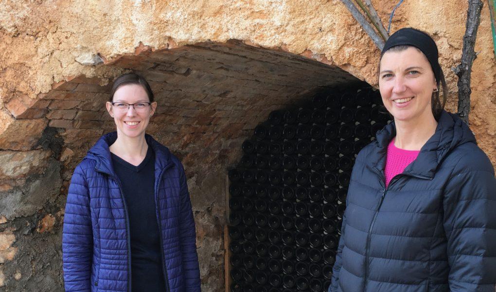 Ana Peršurić and Katarina Peršurić of Misal sparkling wines, in Istria, Croatia