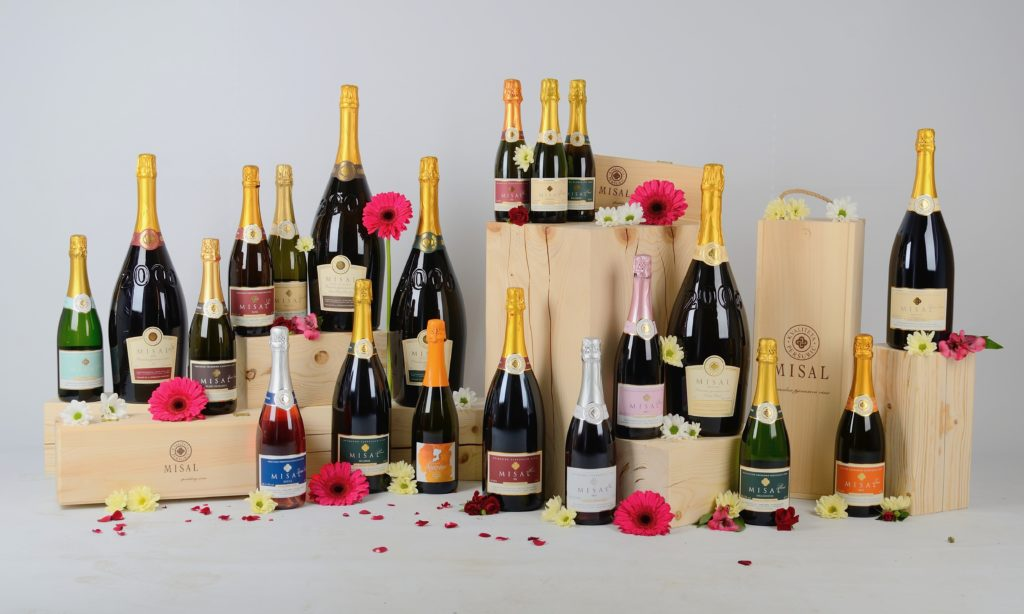 Misal winery's 11 sparkling wines
