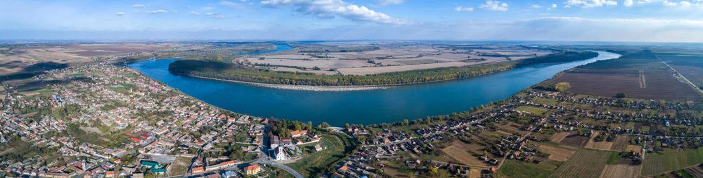 Danube surrounding Erdut region, Croatia