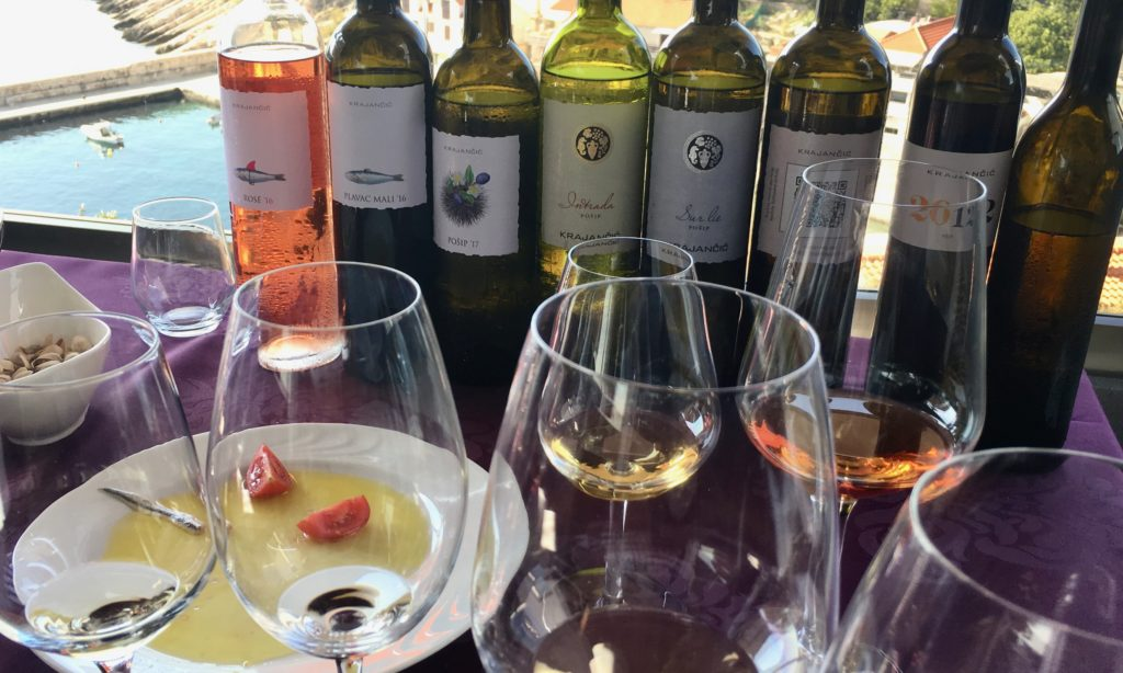 Krajančić wines