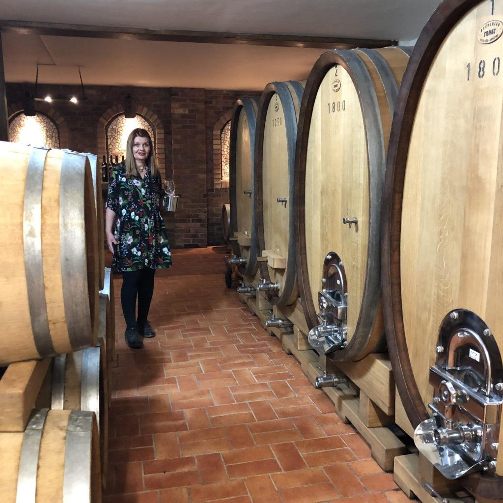 Jasna Antunović Turk, of winery Antunović, Croatia